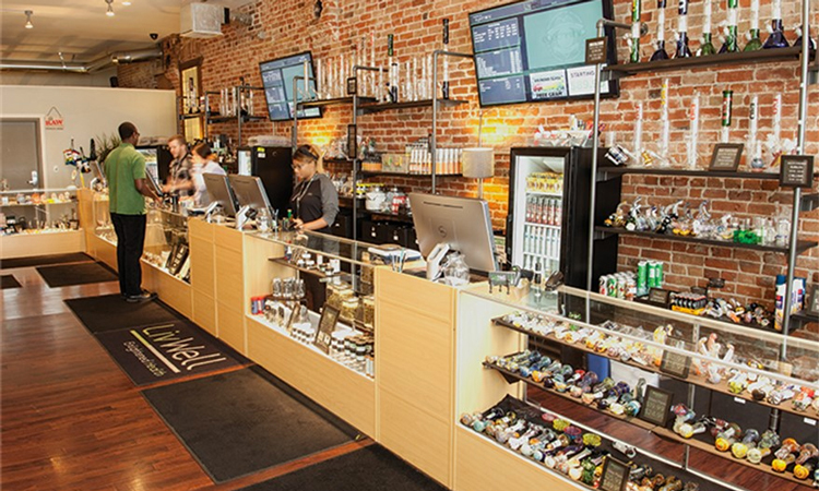 LivWell on Broadway medical marijuana and recreational cannabis dispensary in Denver, Colorado