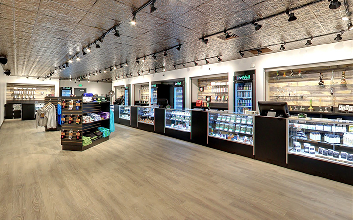 LivWell Stapleton cannabis dispensary in Denver, Colorado