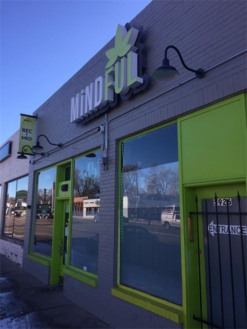MiNDFUL on Colfax cannabis dispensary in Denver, CO