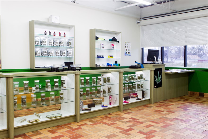 Greenside Collective medical marijuana dispensary in Detroit, Michigan