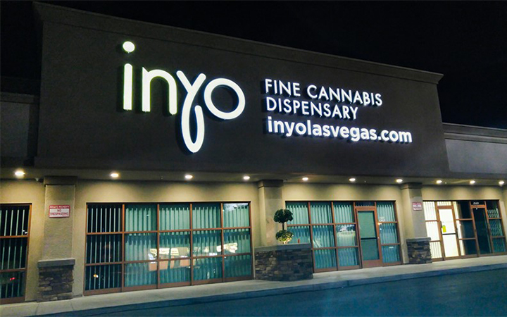 Inyo Fine Cannabis medical marijuana dispensary in Las Vegas, Nevada