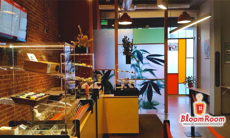 Bloom Room medical cannabis dispensary in San Francisco, California