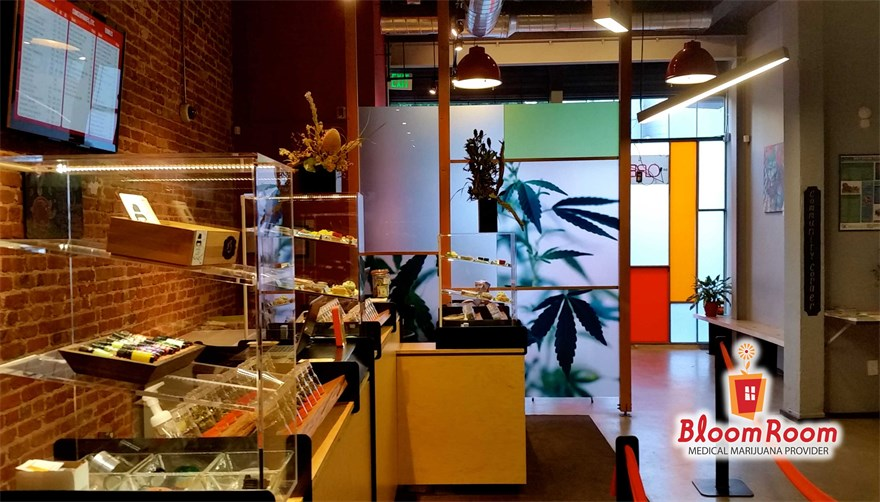 Bloom Room cannabis dispensary in San Francisco, California