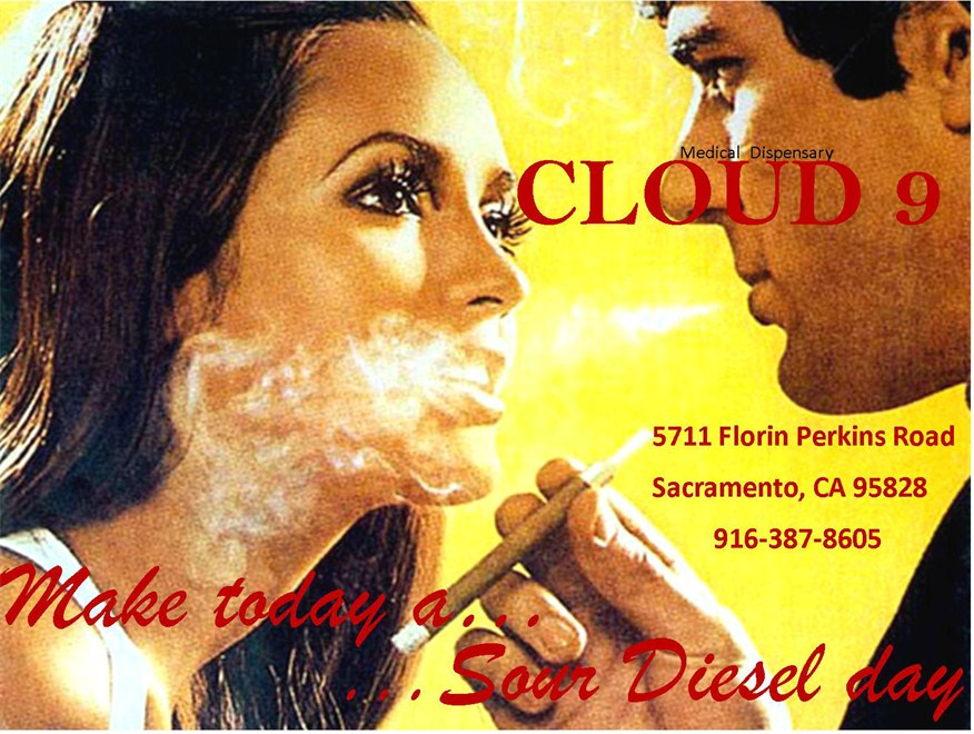 Cloud 9 cannabis dispensary in Sacramento, CA