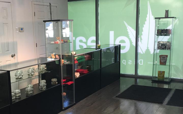 WeLeaf medical marijuana dispensary in Toronto, Ontario, Canada