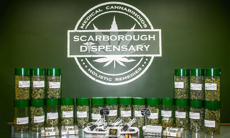 Scarborough medical marijuana dispensary in Toronto, Ontario, Canada