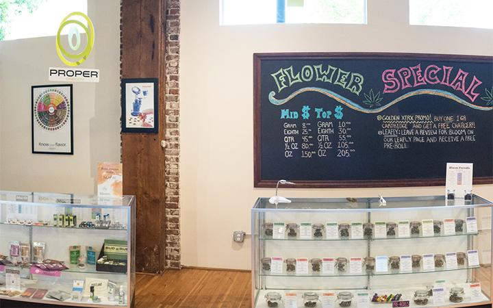 Bloom cannabis dispensary in Portland, Oregon