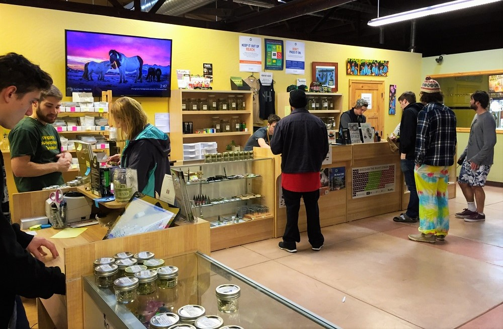 Eugene OG medical and recreational cannabis dispensary in Eugene, Oregon