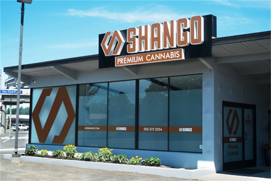 Shango Hillsboro medical marijuana and recreational cannabis dispensary in Hillsboro, Oregon
