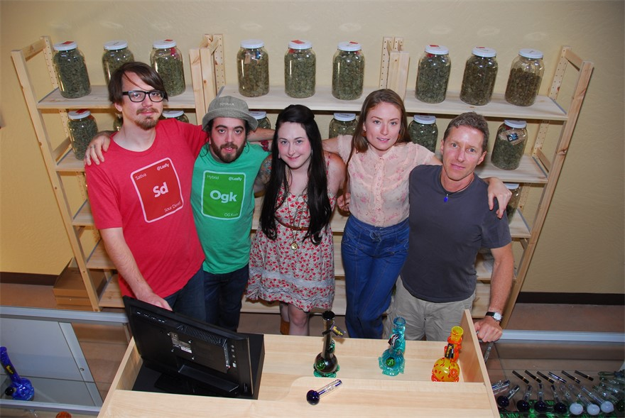 The staff at Eugene OG cannabis dispensary in Eugene, OR