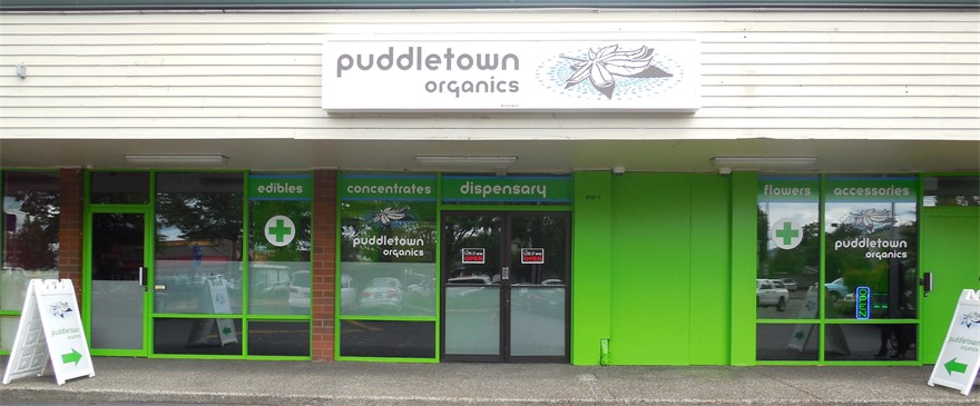 Puddletown Organics cannabis dispensary in Portland, OR