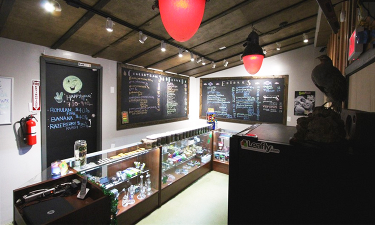 Sugar Shack medical cannabis dispensary in Sante Fe Vista, California
