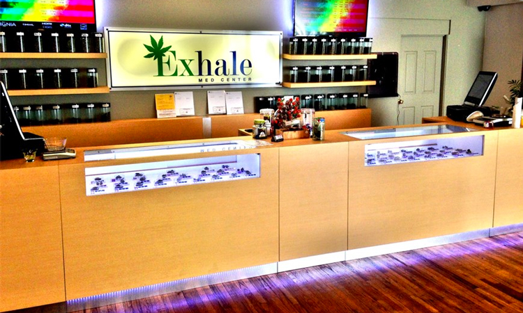 Exhale Med Center medical cannabis dispensary in West Hollywood, California