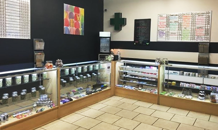 GreenLeaf medical cannabis dispensary in Compton, California