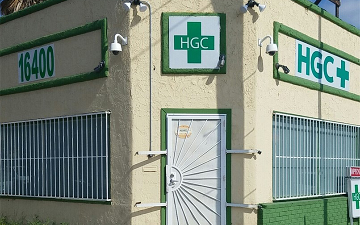 HGC medical marijuana dispensary in Gardena, California