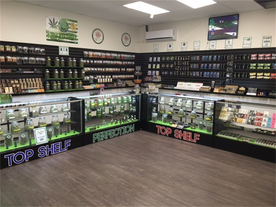 Green Giant medical marijuana dispensary in La Mesa, California