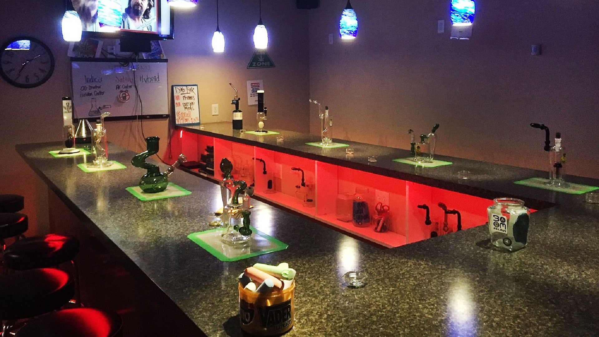 CaptainJacks dab bar and medical marijuana dispensary in Upland, California