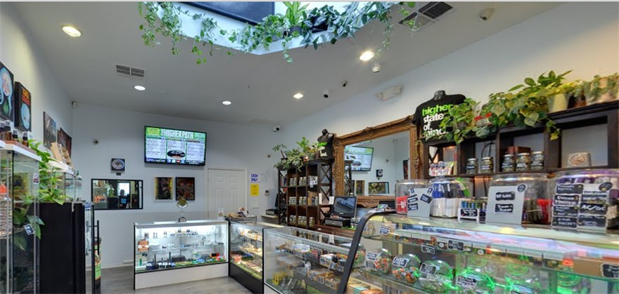 The Higher Path cannabis dispensary in Los Angeles, California