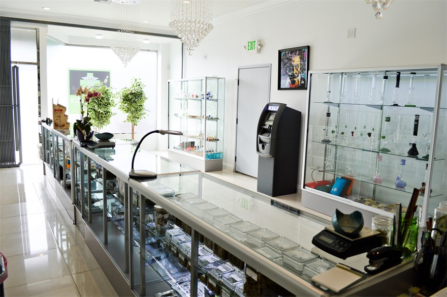 The Green Easy medical cannabis dispensary in Los Angeles, California