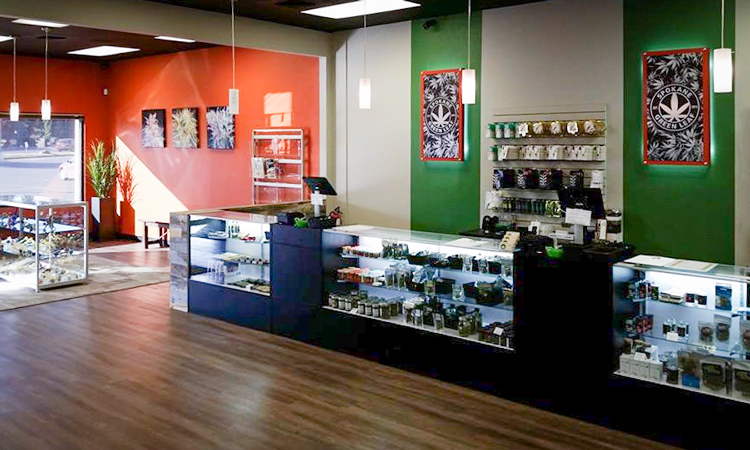 Spokane Green Leaf recreational cannabis dispensary in Spokane, Washington
