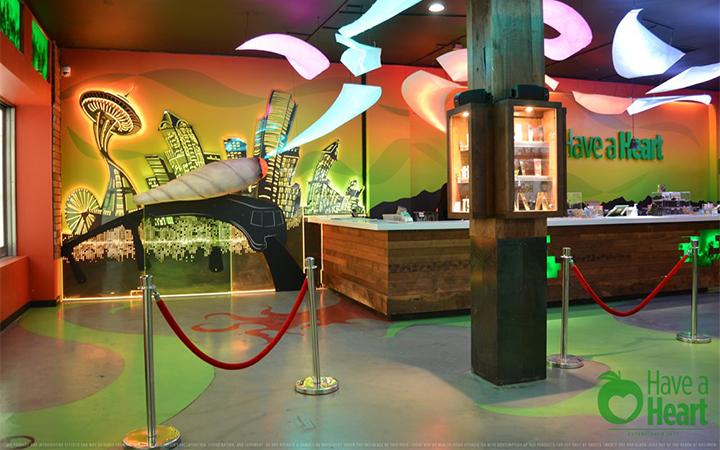 Have a Heart Belltown cannabis dispensary in Seattle, Washington