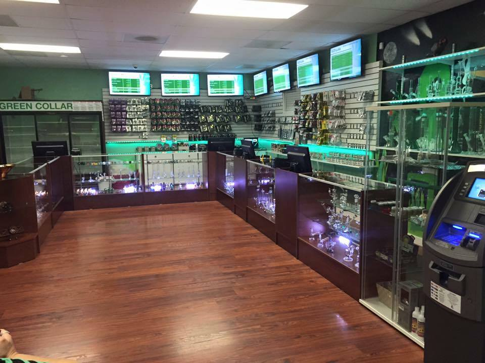 Green Collar Cannabis recreational dispensary in Tacoma, Washington