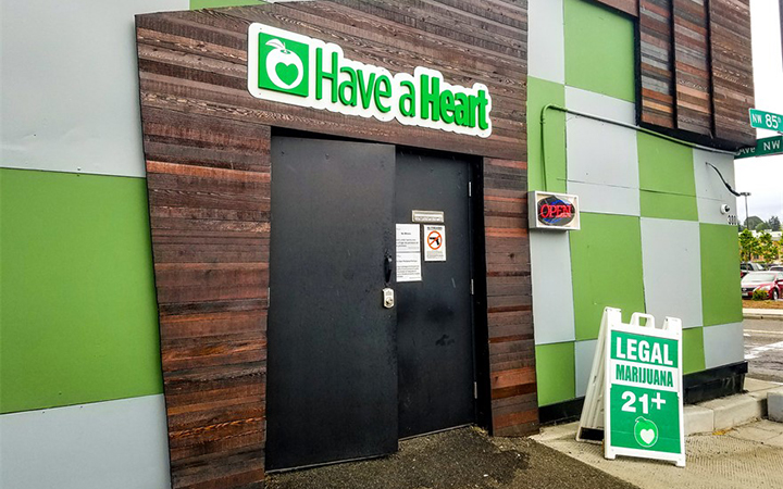 Have a Heart Greenwood marijuana dispensary in Seattle, Washington