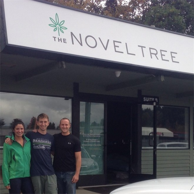 The Novel Tree recreational cannabis dispensary in Bellevue, Washington
