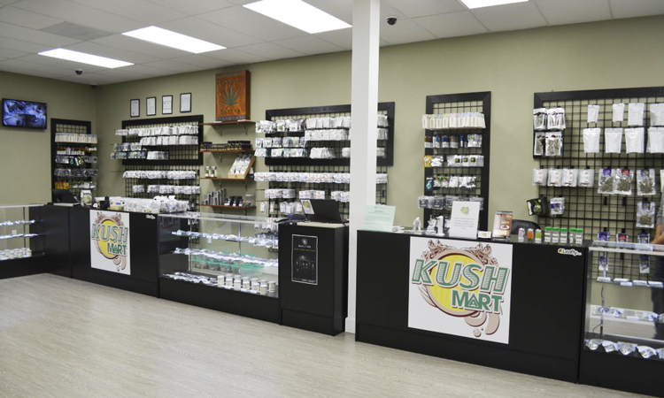 KushMart recreational cannabis dispensary in Everett, Washington