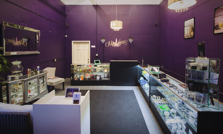 Mary Jane medical marijuana and recreational cannabis dispensary in Kirkland, Washington