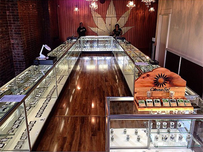 Ganja Goddess cannabis dispensary in Seattle, WA
