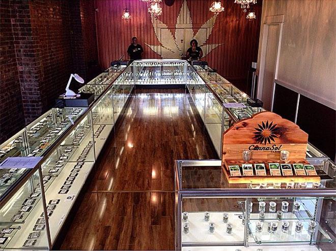 Ganja Goddess cannabis dispensary in Seattle, WA