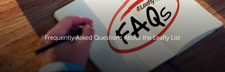 Frequently Asked Questions About the Leafly List