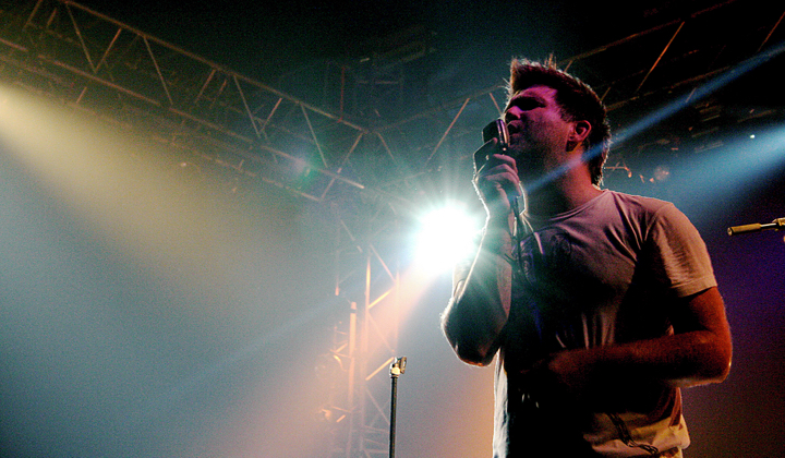 LCD Soundsystem (photo via Emanuele Rosso)