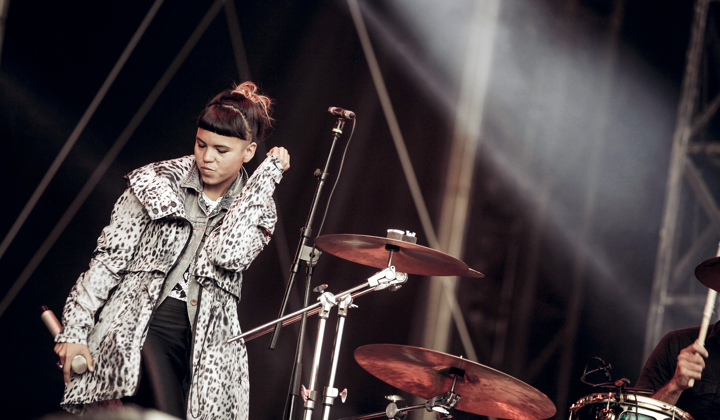 Bomba Estereo (photo via Clement Caron)