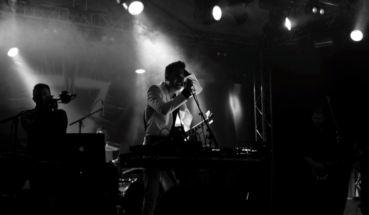 Matthew Dear at Oya Festival (photo courtesy of Concert Photos)
