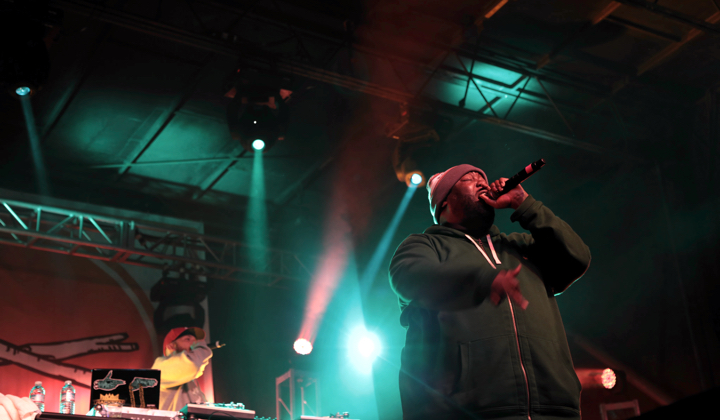 Run the Jewels (photo via Treefort Music Fest)