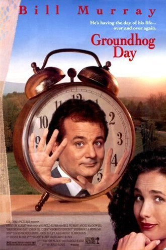 """Groundhog Day"" movie poster"