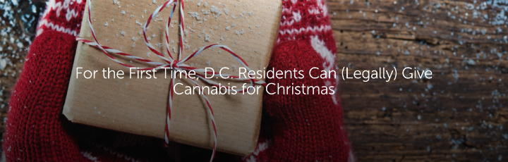 For the First Time, DC Residents Can (Legally) Give Cannabis for Christmas