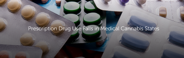 Prescription Drug Use Falls in Medical Cannabis States