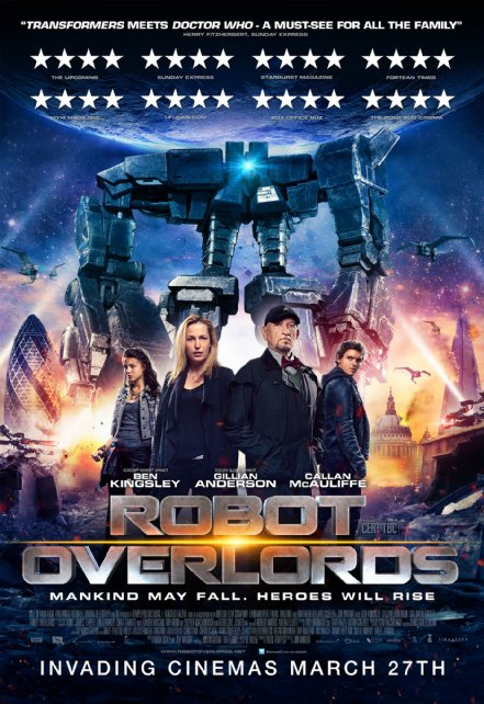 Robot Overlords starring Ben Kingsley and Gillian Anderson