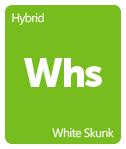 Leafly White Skunk cannabis strain tile