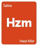 Leafly Haze Mist cannabis strain tile