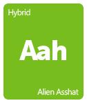 Leafly Alien Asshat cannabis strain tile