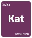 Leafly Katsu Kush cannabis strain tile