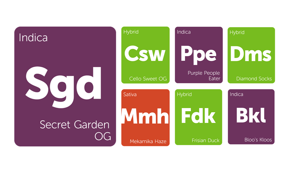 New Strains Alert: Purple People Eater, Diamond Socks, Bloo's Kloos, and More
