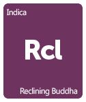 Leafly Reclining Buddha cannabis strain tile