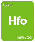 Leafly Hellfire OG cannabis strain tile