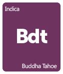 Leafly Buddha Tahoe cannabis strain tile