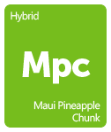 Leafly Maui Pineapple Chunk cannabis strain tile